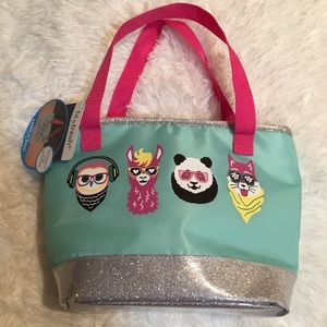 🛍3 for $9🛍fit & fresh aqua insulated lunch bag